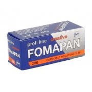 Fomapan 200-120 Profi Line Creative (черно-белая негативная пленка, для ручной проявки, 8 кадров 6х9см, 12 кадров 6х6см, 16 кадров 4,5х6см, чувствительность ISO 200)