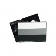 ColorChecker 3-Step Grayscale Classic (3-х цветная шкала для цветокорреции. Цвета: белый, 18% серый, черный. Размеры: 21,59 х 27,94 см)