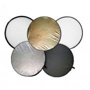 RD051-110cm (золотистый/серебристый/белый/черный/на просвет)