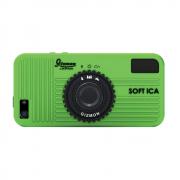 SOFT iCA (green/зеленый) (стильный чехол в виде фотоаппарата для iPhone 5/5S)