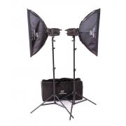 Комплект импульсного освещения FST E-180 Softbox Kit