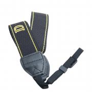 Ремень Fujimi FANS-D (наплечный трикотажный ремень, черно-желтая расцветка со стилизацией под Nikon)