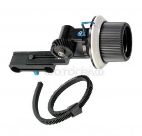 Follow Focus 04 (механизм для тонкого управления фокусом объектива при съемке видео на DSLR камеру)