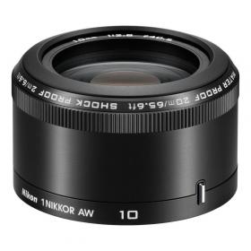 Объектив Nikon 1Nikkor AW 10mm F2.8 (black)