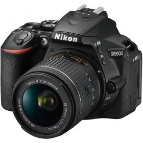 D5600 Kit AF-P DX VR Zoom-Nikkor 18-55mm F3.5-5.6G (black)