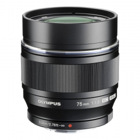 M.Zuiko Digital ED 75mm F1.8 (black) (Art. V311040BE000)