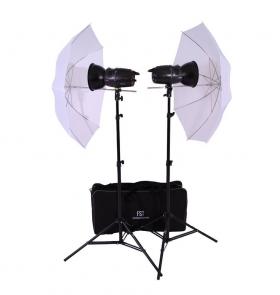 Комплект импульсного освещения FST E-180 Umbrella Kit