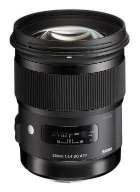 AF 50mm F1.4 DG HSM (Nikon F FX) (серия Art по новой маркировке SIGMA)