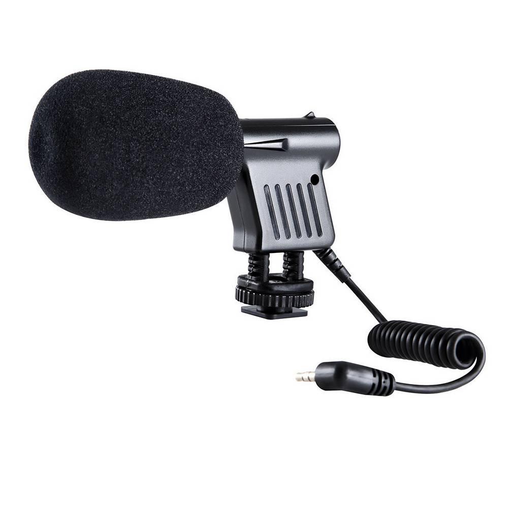 если знаете, как подобрать микрофон для фотоаппарата есть