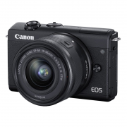 Canon EOS M200 Kit EF-M 15-45mm F3.5-6.3 IS STM (black)