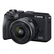 Беззеркальная фотокамера Canon EOS M6 Mark II Kit EF-M 15-45mm F3.5-6.3 IS STM + EVF