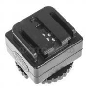 Переходник SC-6 (для установки фотовспышек Sony /Konica Minolta с башмаком Auto-lock Accessory Shoe на фотокамеры со стандартными разъемами)