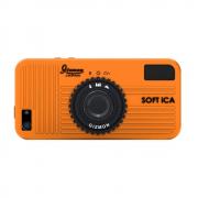 SOFT iCA (orange/оранжевый) (стильный чехол в виде фотоаппарата для iPhone 5/5S)