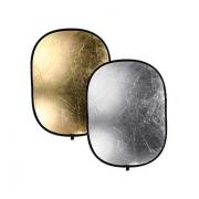Отражатель 90х120 см (золото/серебро)