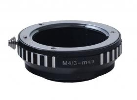 Olympus Micro 4/3 - Olympus 4/3 (FL-M43-43) (для установки объективов с байонетом 4/3 на фотокамеры с байонетом Micro 4/3)