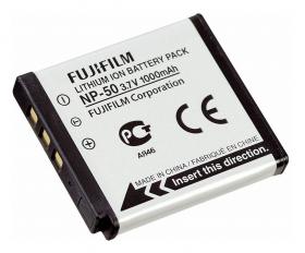 NP-50 Lithium Ion Battery Pack (Li-Ion/3.6V/1000mAh) для X10/X20, XF1