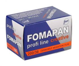 Fomapan 200/36-135 Profi Line Creative (черно-белая негативная пленка, для ручной проявки, формат 135 (24х36мм), 36 кадров, чувствительность ISO 200)