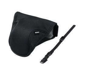 LCS-EMH Soft Carrying Case (мягкий текстильный чехол-обертка для системной фотокамеры Sony Alpha NEX или ILCE с объективом SEL-1855)