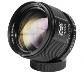 Зенитар С 1.4/85 - байонет Canon EF (полнокадровый, только ручная фокусировка и управление диафрагмой)