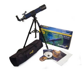 Комплектация телескопа Levenhuk Strike 90 PLUS