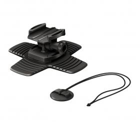 AKA-SM1 Surfboard Mount (гибкое крепление с наклоном на липучке и поводок для использования экшн-камеры на снаряжении для водных видов спорта)