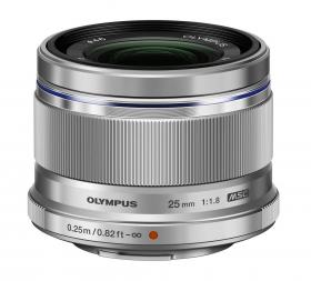 M.Zuiko Digital 25mm F1.8 (ES-M2518) (silver) (Art. V311060SE000)