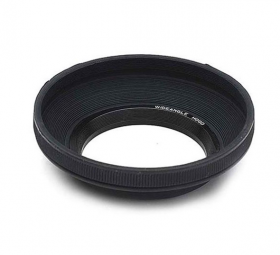 Wide Rubber Lenshood 62mm
