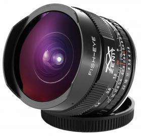 Зенитар С 2.8/16 Фишай - байонет Canon EF (полнокадровый, только ручная фокусировка и управление диафрагмой)