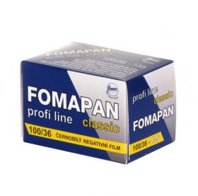 Fomapan 100/36-135 Profi Line Classic (черно-белая негативная пленка, для ручной проявки, формат 135 (24х36мм), 36 кадров, чувствительность ISO 100)