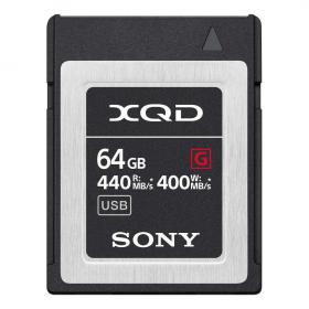 Карта памяти Sony QD-G64F XQD Memory Card 64GB