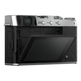 Беззеркальная фотокамера Fujifilm X-E4 Kit Fujinon XF 27mm F2.8 R WR (silver)-4
