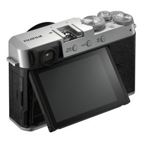 Беззеркальная фотокамера Fujifilm X-E4 Kit Fujinon XF 27mm F2.8 R WR (silver)-5