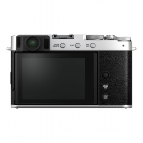 Беззеркальная фотокамера Fujifilm X-E4 Kit Fujinon XF 27mm F2.8 R WR (silver)-6