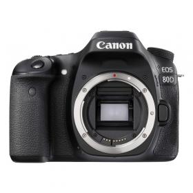 Зеркальная фотокамера Canon EOS 80D (W) Body