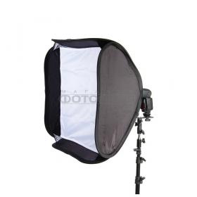 EB-060 (софтбокс 60х60см. быстроскладывающийся для портативных фотовспышек)