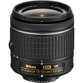 AF-P DX VR Zoom-Nikkor 18-55mm F3.5-5.6G (black)