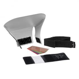 LQ-140 Starter Kit (Комплект: LQ-101 Pocket Bouncer (компактный отражатель для внешней вспышки), набор фильтров с держателем LQ-121 FXtra Gel Filter Kit, лента-липучка LQ-126 Ultra Strap)