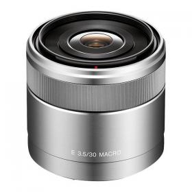 SEL-30M35 E 30mm F3.5 Macro (для байонета E системы Alpha NEX (45мм в 35-мм эквиваленте, регулировка диафрагмы от F3.5 до F22, диаметр фильтра 49мм)