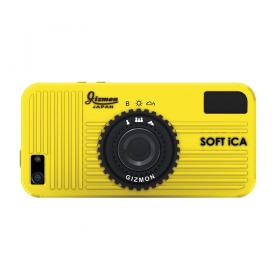 SOFT iCA (yellow/желтый) (стильный чехол в виде фотоаппарата для iPhone 5/5S)