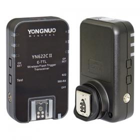 YN-622C II (комплект из двух одинаковых E-TTL радиосинхронизаторов-трансиверов YN-622C II, предназначен для работы с фотовспышками Canon Speedlite или YongNuo для Canon)