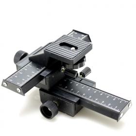 Штативная головка Fujimi FJ-4WMR (4-х осевые рельсы для макросъемки, диапазон перемещения 100 мм)