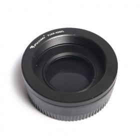 Переходное кольцо Nikon F - M42, с компенсирующей линзой