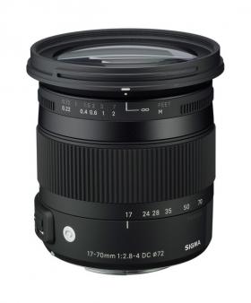 AF 17-70mm F2.8-4 DC MACRO OS HSM (Nikon F DX) (серия Contemporary по новой маркировке SIGMA)