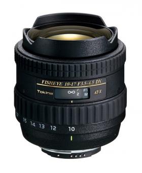 AF 10-17mm F3.5-4.5 DX Fisheye (для байонета Nikon F (DX), кропнутый) (Модель AT-X 107 Fisheye N/AF)