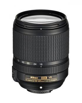 AF-S DX VR Zoom-Nikkor 18-140mm F3.5-5.6G ED