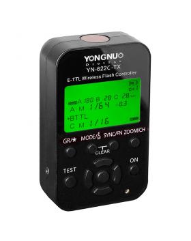 YN-622C-TX (управляющий E-TTL трансмиттер с LCD-дисплеем для управления синхронизаторами из комплектов YongNuo YN-622C/YN-622C II/YN-622C KIT для Canon)