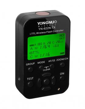 YN-622N-TX (управляющий i-TTL трансмиттер с LCD-дисплеем для управления синхронизаторами из комплектов YongNuo YN-622N/YN-622N KIT для Nikon)