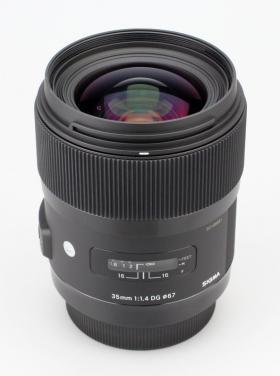 AF 35mm F1.4 DG HSM (Canon EF) (серия Art по новой маркировке SIGMA)