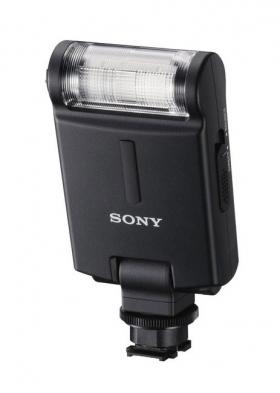 HVL-F20M Flash (GN20, башмак Multi Interface Shoe, поворотная головка, питание 2хААА)