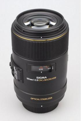 AF 105mm F2.8 EX DG OS HSM MACRO (Nikon)
